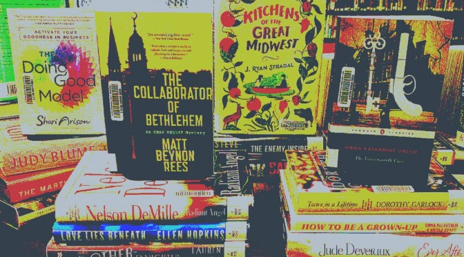 photo of numerous new adult fictional novels
