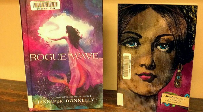 a picture of two new YA books