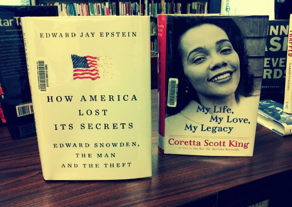 photo of two new non-fiction books