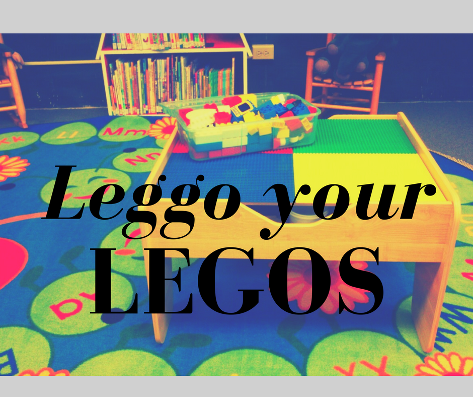 photo of lego play table