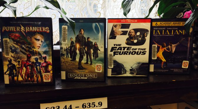 New Releases for Movie Night!