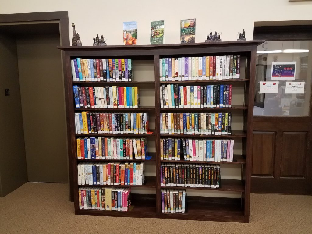 Photo of new Large Print Bookshelf