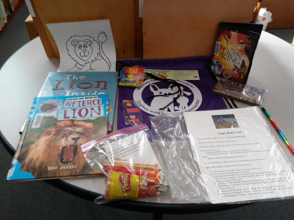 Photo of Lions Family Reading Night Kit