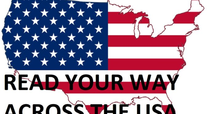 Read Your Way Across the USA decorative clipart